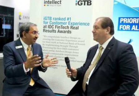 Financial IT interviews Manish Maakan, CEO, iGTB at Sibos 2015