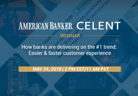 WEBINAR: How banks are delivering on the #1 trend: Easier & faster customer experience