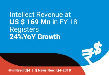 Intellect Registers 24% YoY Revenue Growth for FY 2017-18