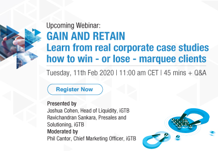 Webinar: Gain and retain learn from real liquidity case-studies