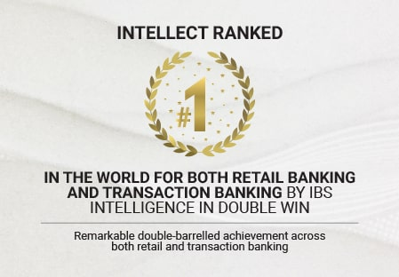 Intellect Revolutionary Contextual Banking Technology ranked #1 in the world for both Retail Banking and Transaction Banking by IBS