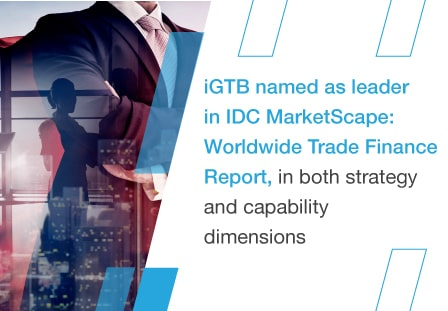Intellect Design named a Leader in the IDC MarketScape: Worldwide Trade Finance Report