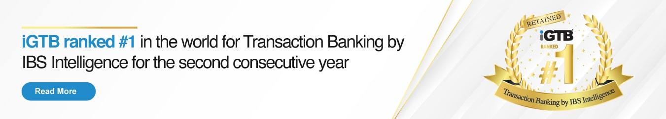 Intellect ranked #1 in Transaction Banking