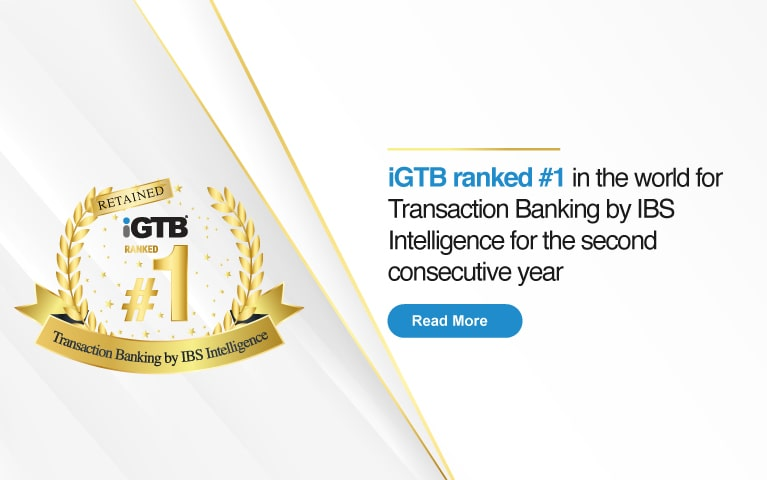 Intellect #1 in Transaction Banking by Global IBSI 2021