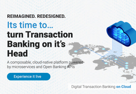 iGTB Digital Transaction Banking on Cloud – the world's first, cloud-native, fully-integrated cash management platform, powered by microservices and Open Banking APIs for banks in Middle East & North Africa